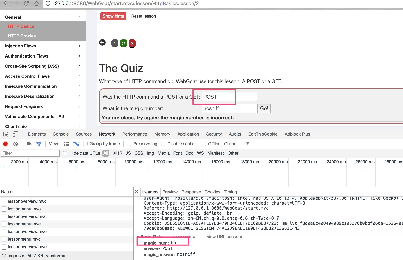 Web安全攻防靶场之WebGoat – 1 – 鲜鲜实验室